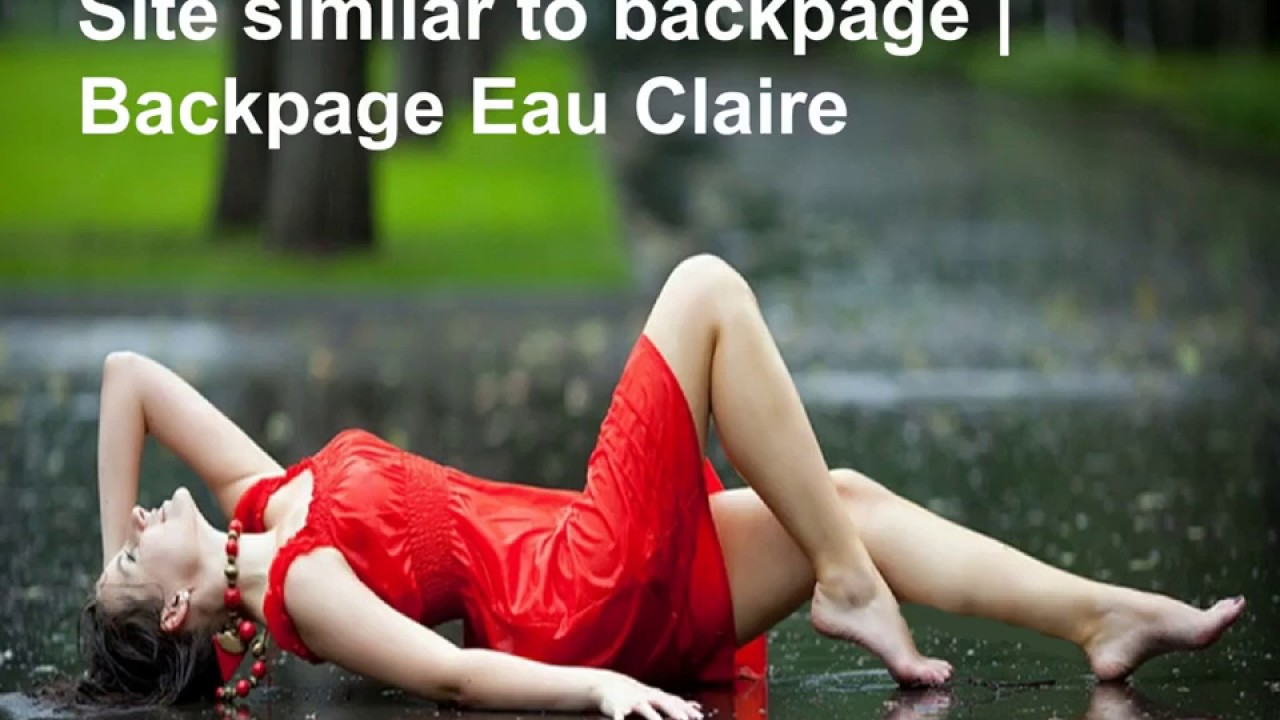 Eauclaire backpage