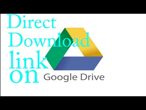 HOW TO GENERATE DIRECT DOWNLOAD LINK FROM GOOGLE DRIVE EASILY IN YOUR ANDROID SMARTPHONE
