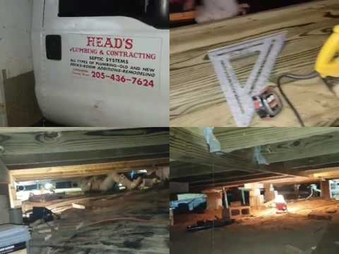 FOUNDATION REPAIR  BY HEAD'S PLUMBING & MARINE CONTRACTING