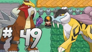 Let's Play Pokemon: HeartGold - Part 49 - Entei & Raikou