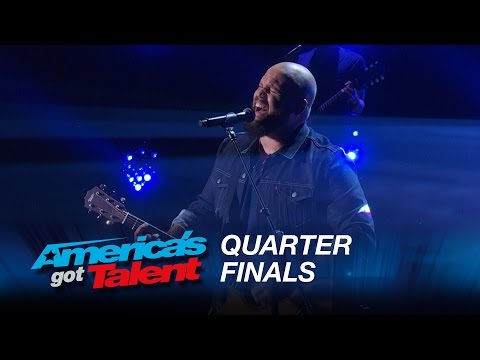 """Benton Blount: Singer Surprises with """"Say Something"""" Cover - America's Got Talent 2015"""