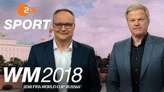 Best of Oliver Welke und Oliver Kahn   FIFA WM 2018 - ZDF