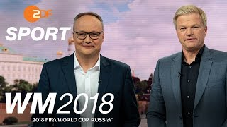 Best of Oliver Welke und Oliver Kahn | FIFA WM 2018 - ZDF