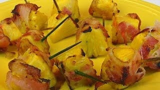 Betty's Bacon Pineapple Wraps