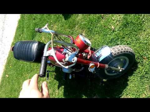 Honda z50 minitrail on eBay