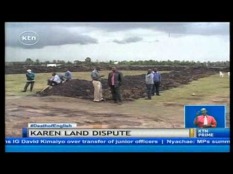 Fifty individuals and companies set to move to court over Karen land case