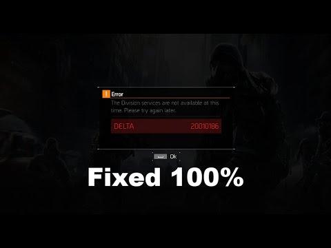 division delta error