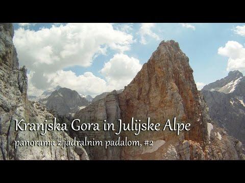 Kranjska Gora in panorama po Julijcih - The most beautiful paragliding site in Slovenia