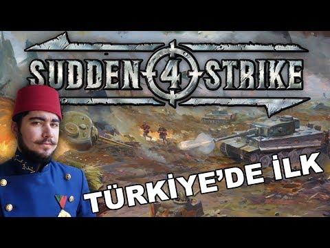 Sudden Strike 4 - İLK! Eğitim Bölümü / Tutorial Gameplay