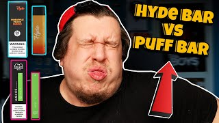 Hyde Disposable Vape Vs Puff Bar Review