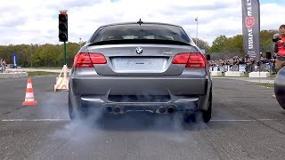 EXTREMELY LOUD BMW M3 E92 w/ Straight Pipes iPE Titanium Exhaust!