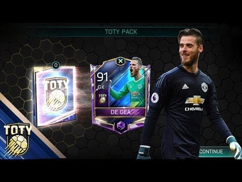 OMG YES WE PACK ANOTHER TOTY PLAYER!!! FIFA 18 MOBILE TOTY DEFENDERS 2 x 500K PACKS #FIFAMobile