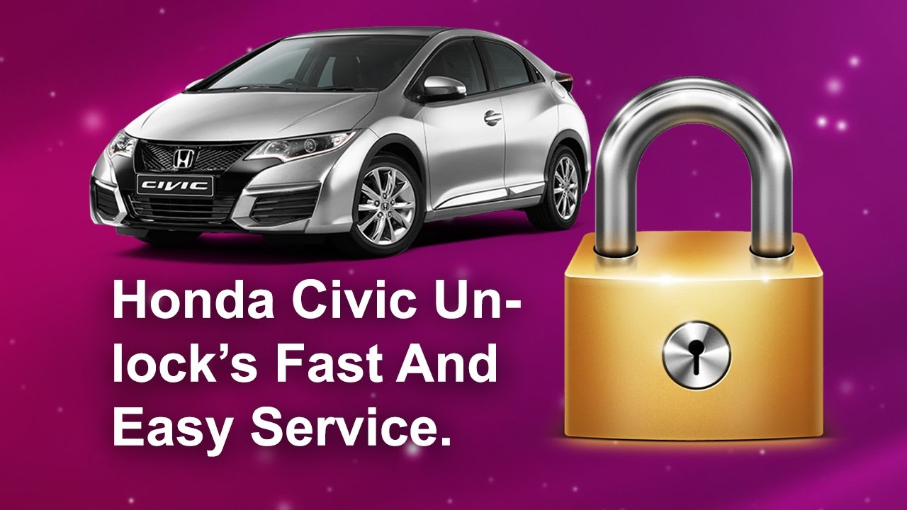 HONDA CIVIC RADIO CODES UK FROM THE SERIAL NUMBER UXXXX LXXXX