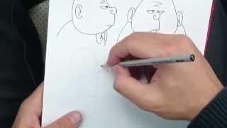 Как нарисовать мультяшный нос, рот, зубы, губы. #3 крок. Рисуем мультяшек(Это обучающее видео, как основа для рисования мультяшек и комиксов. Рисование для новичков., 2014-10-11T12:16:49.000Z)