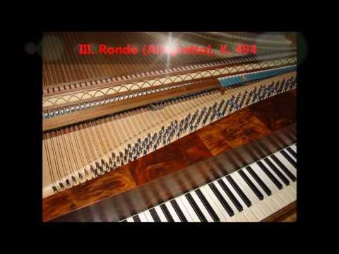 Mozart - Piano Sonata No. 15 in F, K. 533 / K. 494 [complete]