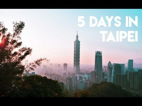 5 DAYS IN TAIPEI, TAIWAN (You should visit this country!)
