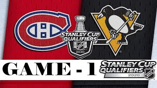Montreal Canadiens vs Pittsburgh Penguins | Aug.01, 2020 | Best of 5 | Game 1 | NHL 2019/20 | Обзор