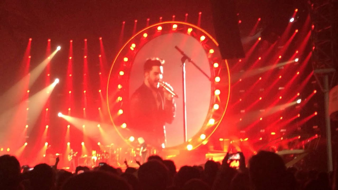 under pressure queen adam lambert frankfurt. Black Bedroom Furniture Sets. Home Design Ideas