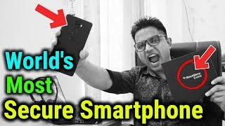 World's Most Secure Android Smartphone | Blackberry Evolve in ₹16,990 Only Review [ HINDI ]