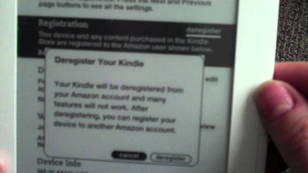 Amazon Kindle  How To Delete Content Off Of Your Amazon Kindle