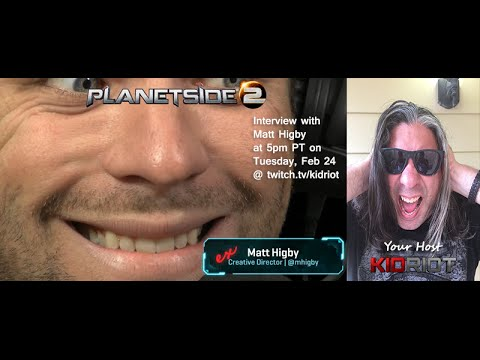 Planetside 2 Discussion with Matt Higby