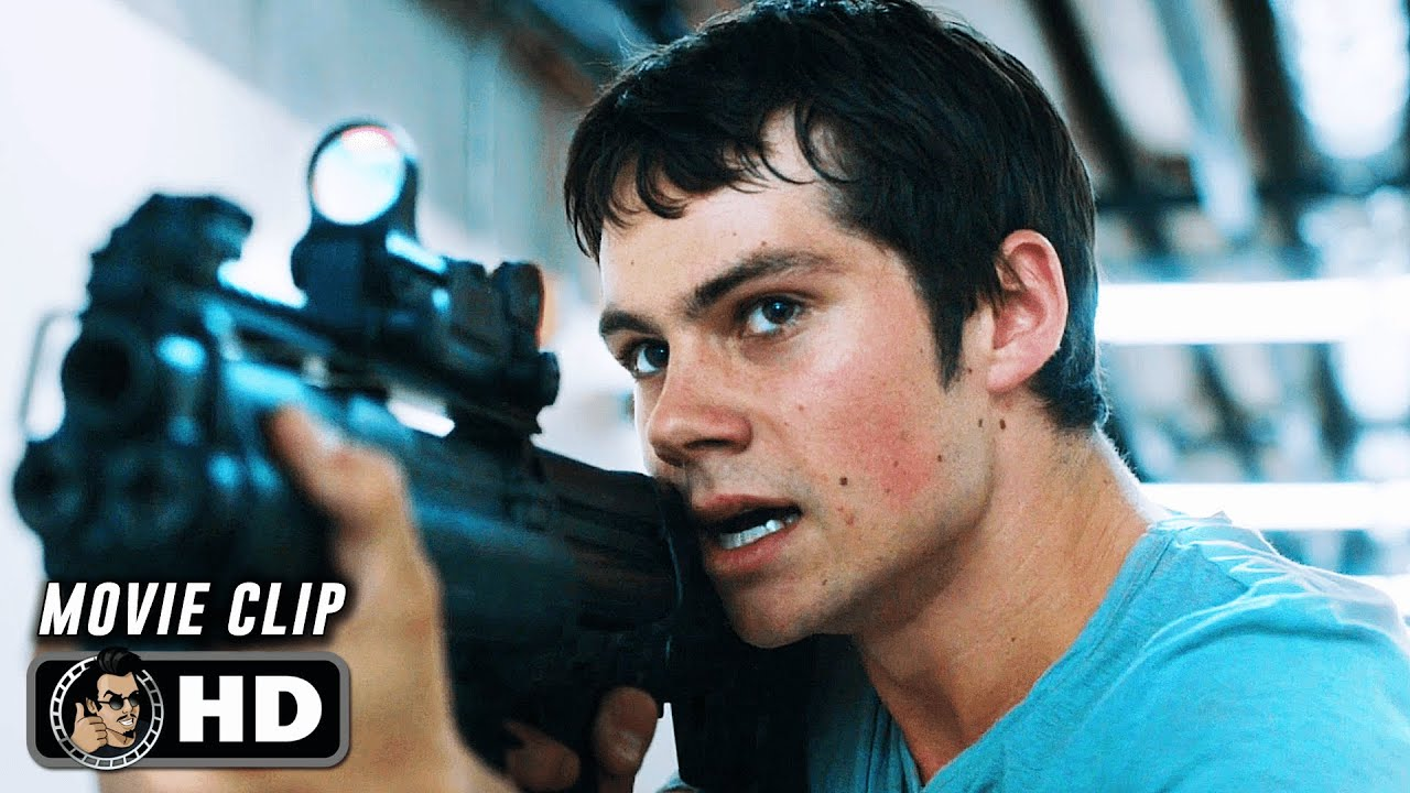 """Download MAZE RUNNER: THE SCORCH TRIALS Clip - """"The Group Escape the Facility"""" (2015)"""