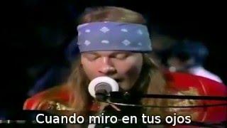 Guns N Roses November Rain Con Elton John 1992 Mtv Subtitulada