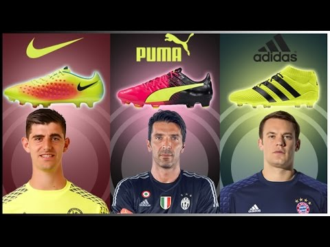Top 25 Goalkeepers And Their Boots 2016 17 - YouTube b40b8dc51db3