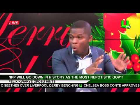 Sammy Gyamfi and Ernest Owusu Bempah  on UTV Late News