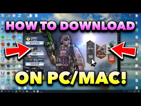 How To Download Call Of Duty Mobile On Your Computer! (PC/Mac Tutorial)