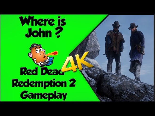 Where is John? | Red Dead Redemption 2 | Xbox One X 4K Gameplay