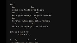 Kisah Seorang Pramuria Boomerang Chord Lirik