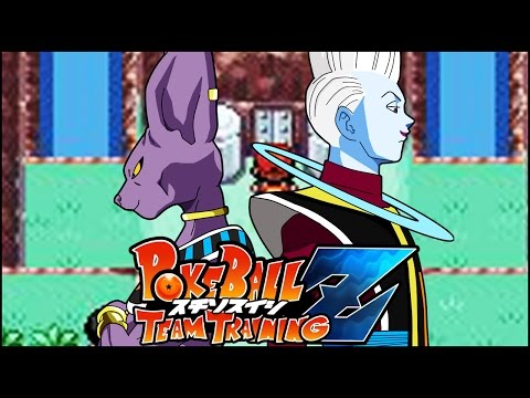 How To Catch Beerus & Whis! PokeBall Z: Dragon Ball Z Team Training (Rom Hack)