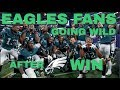 HILARIOUS Eagles Fans GOING WILD After Win (Riots, Reactions and Celebrations)  | Compilation Nation