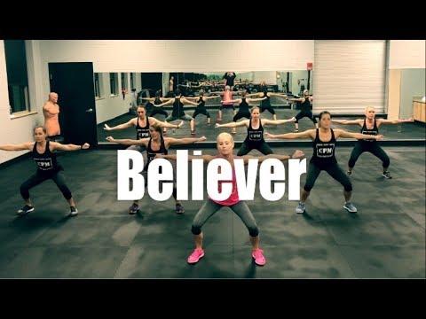 Major Lazer & Showtek - Believer | Cardio Party Mashup Fitness Routine