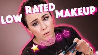 VERZWEIFELUNG 😑 Makeup mit 1 ⭐️ Bewertung von Douglas | LOW RATED MAKEUP | Hatice Schmidt