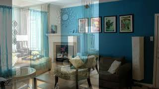 40 The Best Aqua Living Room Color Scheme Ideas