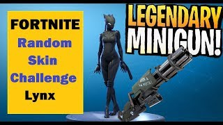 Fortnite Random Skin Challenge | Legendary Weapons Only | Season 7