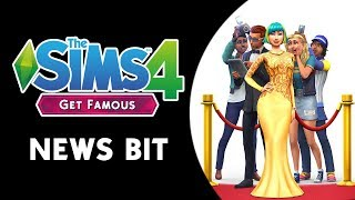 The Sims 4 News Bit: GET FAMOUS EXPANSION PACK COMING NOVEMBER 16TH!
