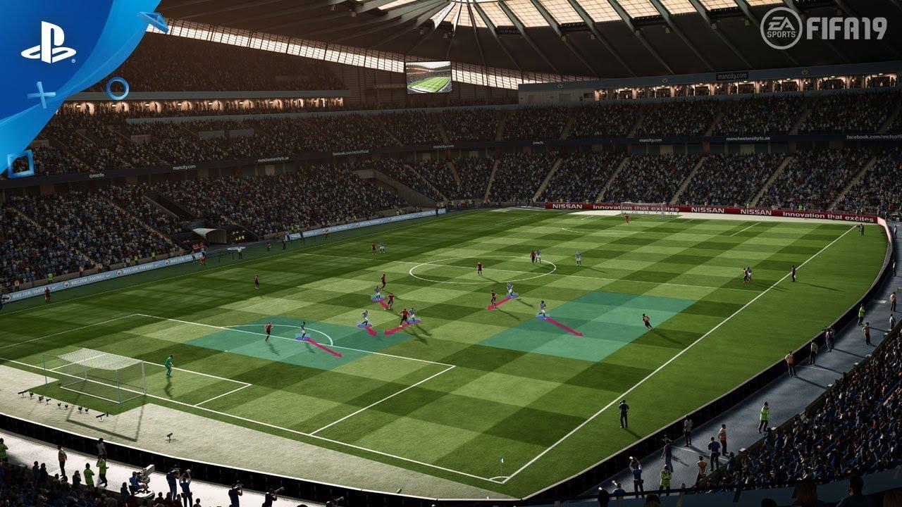FIFA 19 - Dynamic Tactics video