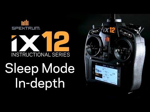 Spektrum iX12 Instructional Series - Sleep Mode Explained