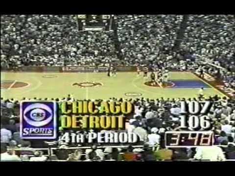 NBA 1988   Chicago Bulls vs Detroit Pistons