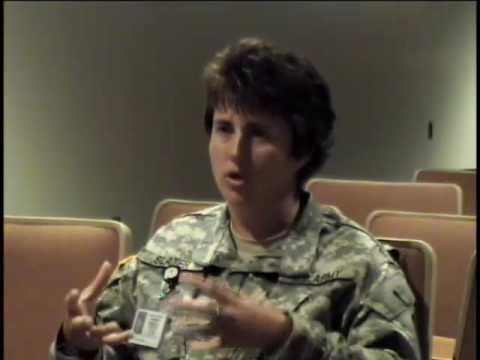 Denise Slater, Master Sergeant, NY National Guard and US Army, 1986 - Iraq War