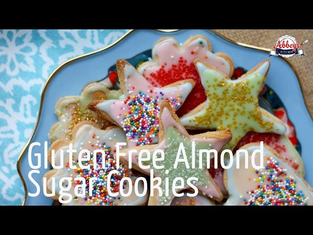 MOTHER'S DAY Recipe for Gluten Free SUGAR COOKIES with Dairy Free Icing | Healthy Dessert for Mom!