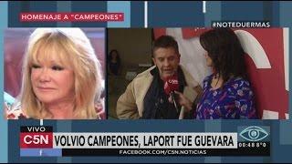 C5N - No te Duermas: Entrevista a Osvaldo Laport