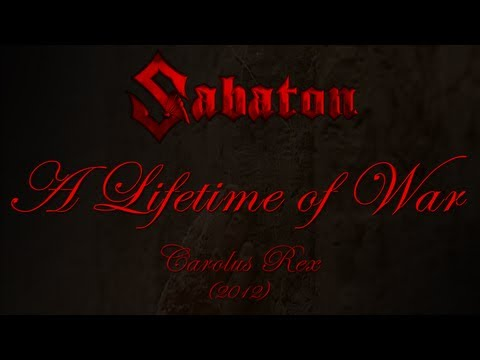 Sabaton - A Lifetime Of War (Lyrics English & Deutsch)