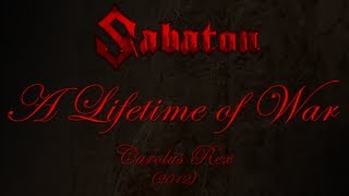 Sabaton - A Lifetime Of War (Lyrics English & Deutsch)