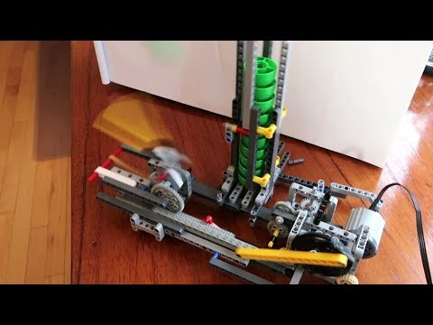 Lego machine catapult