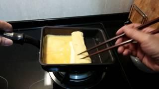 宜得利玉子燒不沾鍋煎起司乳酪歐姆蛋測試