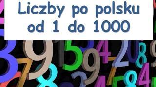 Польский. Тема: Цифры